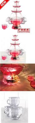 Nostalgia Dbf15wt Innova Deluxe Lighted Beverage Party Fountain Vintage Small Appliances 116013 Led Lighted Vintage Outdoor