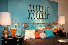 Teal And Brown Bedroom Teal And Orange Bedroom