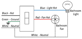 smartexhaust™ aircycler Bathroom Light Fan Wiring Diagram Extractor Fan Wiring Diagram