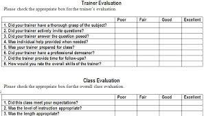 Evaluation Chart Sample 27 Images Of Designing A Training Evaluation Template
