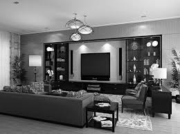Living Room Black Living Room Beautiful Living Room In Black