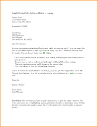 Example Of Inquiry Letter For Product How write inquiry letter 24 sample basic gallery product webtrucks 1