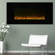northwest wall mounted led fire and ice flame electric fireplace