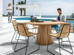 patio things the whirl outdoor dining table is part of glosters round outdoor dining table large outdoor dining table with fire pit