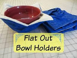Microwave Bowl Holder Pattern Interesting Flat Out Bowl Holders AllFreeSewing