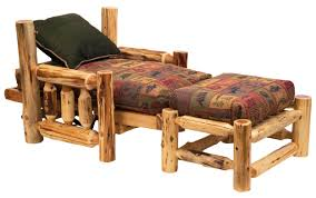full size of futon chair cedar and ottoman set cover with shown optional big sky fabric