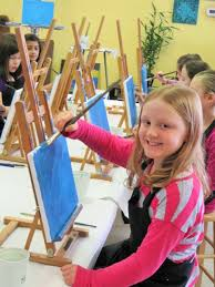 have a painting party for your child s birthday party