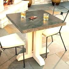 concrete coffee table outdoor patio want to do this for and wood large square