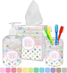 Girly Girl Bathroom Accessories Set (Personalized)