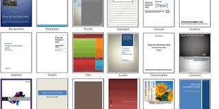Cover Page For Ms Word 2007 Templates Download Microsoft Word Themes