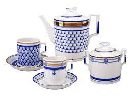 <b>Сервиз чайный</b> Белое море - 20 предметов на <b>6</b> персон