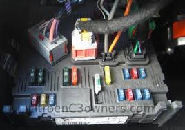 citroen c3 fuse box access glove box help and advice image