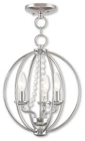 arabella 3 light mini chandelier ceiling mount polished chrome