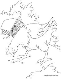 Small Picture Little Red Hen Coloring Pages Coloring Home
