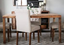 modern reclaimed wood dining table wonderful ana white emmerson parsons interior design 27