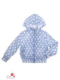 <b>Ветровка Gulliver</b> для <b>девочки</b>, цвет голубой, белый - купить в ...