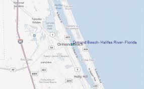 Tide Chart Ormond Beach Florida Ormond Beach Halifax River Florida Tide Station Location Guide