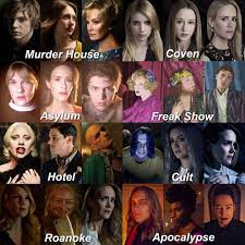 American horror story characters ...
