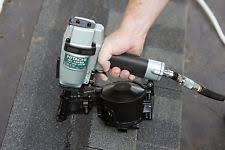 hitachi roofing nailer. hitachi roofing nailer gun lightweight pneumatic power flush driving side load h