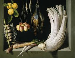 still life with game fowl vegetables and fruits 1602 by juan