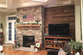 stone fireplace profile