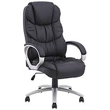 chair office. bestoffice ergonomic pu leather high back office chair, black chair