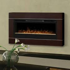Dimplex Cohesion Burnished Walnut Wall Fireplace Surround - DT1103BW
