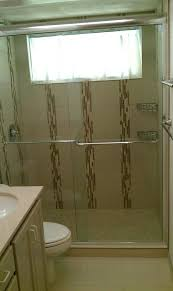 shower door diy tub to conversion bathroom contemporary with image by custom surface solutions best glass cleaner