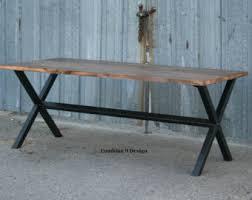 minimalist modern industrial office desk dining. Vintage Industrial Dining Table. Minimalist Desk. Modern Reclaimed Wood And Steel Office Desk
