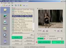 how to create a video how to create video gallery easy web gallery builder