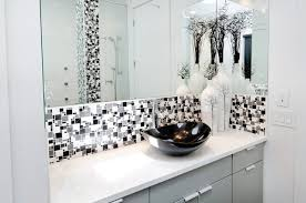 black white and grey bathrooms. modern minimal black white and grey tile bath contemporary-bathroom bathrooms a
