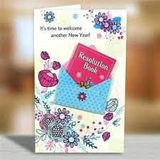 New Year Greeting Cards Designs Welcome Another Year Greeting Card