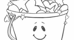 Small Picture im a bucket filler coloring page Archives Cool Coloring Pages