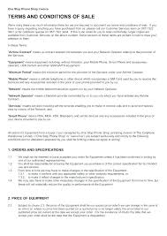 Elegant Business Terms And Conditions Template Advertising