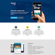 Responsive Website Template Interesting SmartApp Free Responsive Website Template