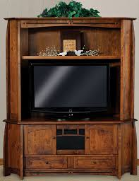 corner furniture piece. youu0027ll save on every piece of furniture at amish outlet store we custom make item and you can get the boulder creek corner entertainment center in e