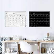 Reusable Flip Chart Paper Us 7 25 45 Off Reusable Magnetic Dry Erase Refrigerator Calendar Monthly Planner Whiteboard Board With Pen Eraser For Home Office 40x30cm In Flip