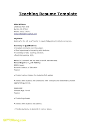 Resume Template For Electrician Or Kindergarten Cover Letter Cover