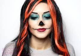 skelita calaveras costume makeup