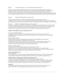 qa sample resume 23919
