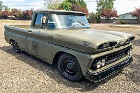 1960 Chevy C10 - Military Themed Tribute - YouTube