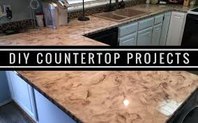 metallic diy customer install 1 countertop resurfacing kits