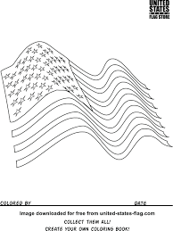 The top 10 most common groups of flag colors. Waving American Flag Coloring Page Page 1 Line 17qq Com