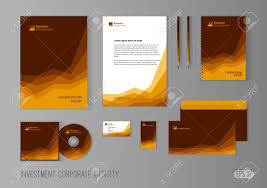 Corporate Identity Template For Investment Company Modern