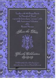 61 best haunted mansion wedding images on pinterest haunted Purple Disney Wedding Invitations midnight in the garden of evil a haunted mansion wedding Elegant Wedding Invitations