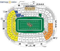 Spectrum Stadium Seating Chart Ucf Ucf Knights 2012 Football Schedule
