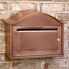 wall mount mailbox envelope. Simple Mailbox Arched Locking Wall Mount Copper Mailbox Antique Style Envelope For Wall Mount Mailbox Envelope