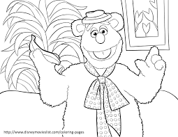 Small Picture Disneys The Muppets Coloring Pages Sheet Free Disney Printable