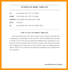 Inter Office Memo Format Inter Office Memo Template Combined With How To Write A