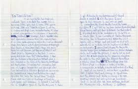 lot detail tupac shakur four page handwritten and signed essay hover to zoom